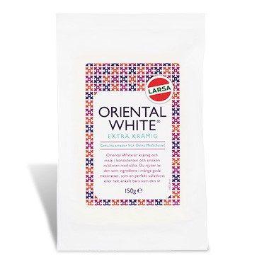 Produktbild på orientalwhite extra creamy 150g.