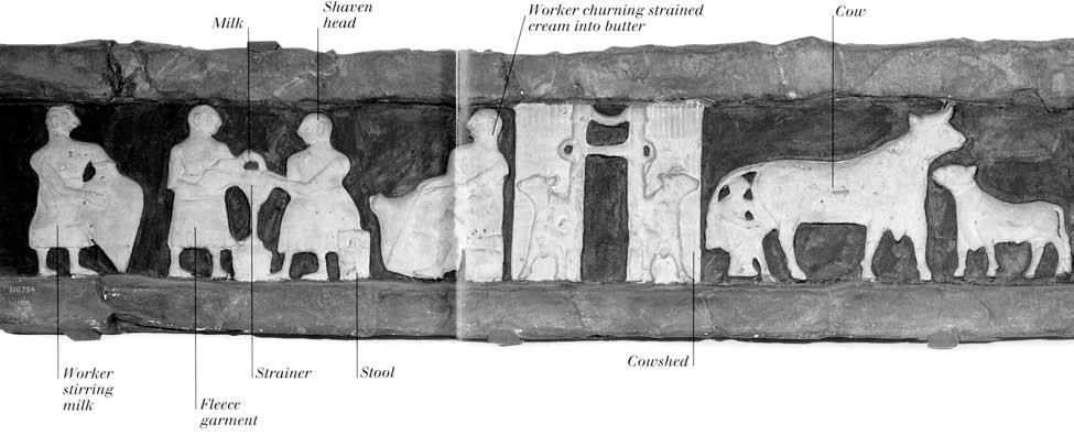En bild från Mesopotamien där Larsa ligger.