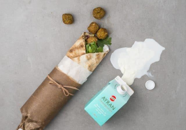 Ayran + falafel