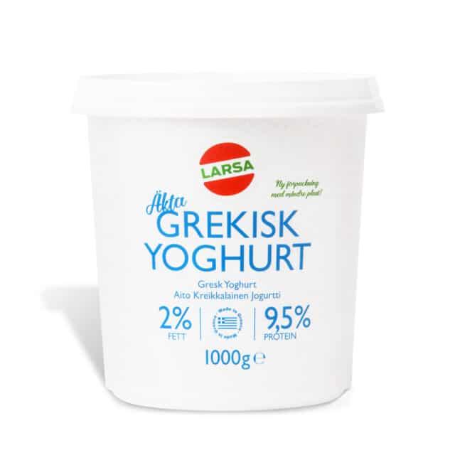Äkta Grekisk yoghurt 2%