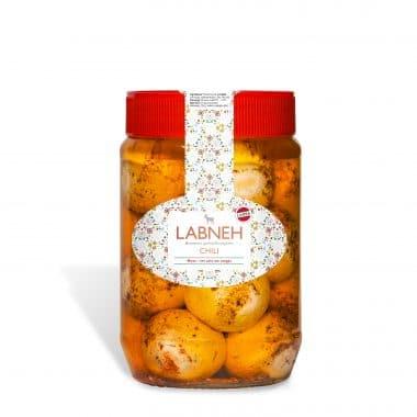 Produktbild på Labneh smaksatt med chili.