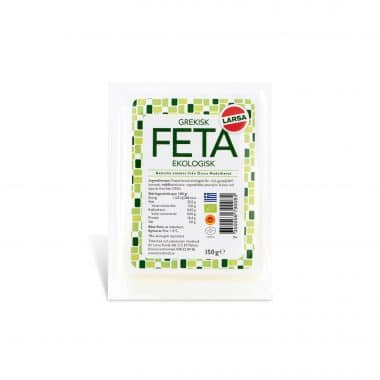 Produktbild på Feta Ekologisk från Larsa.