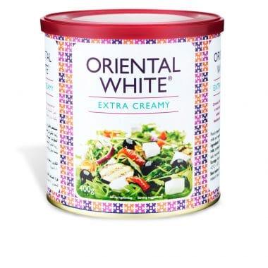 Produktbild på Oriental White Extra Creamy 400g.