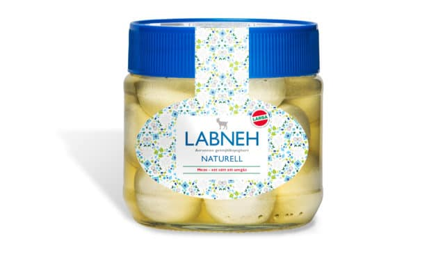 Återkallar Labneh, naturell (225g), samt chili (425g). Skälet är att glas upptäckts i en förpackning.