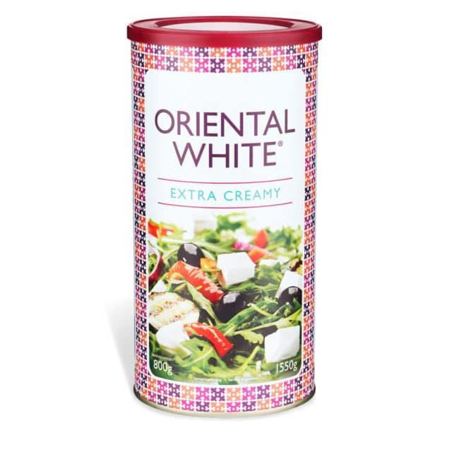 Produktbild på Oriental White Extra Creamy 800g vitost.