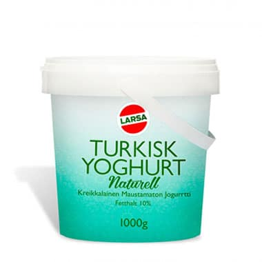 Naturell Yoghurt, Turkiskt