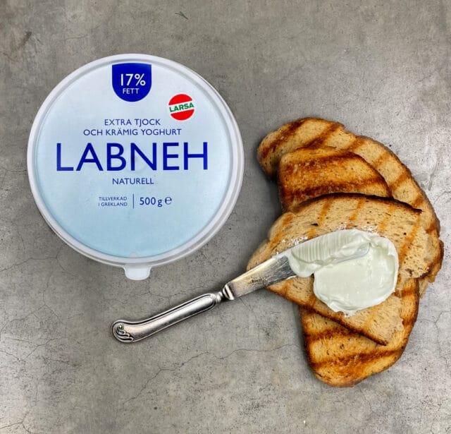 Nyhet! Labneh, extra tjock avrunnen yoghurt från Grekland