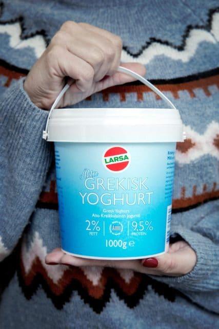Nyhet! Grekisk yoghurt med 2% fett & 9,5% protein